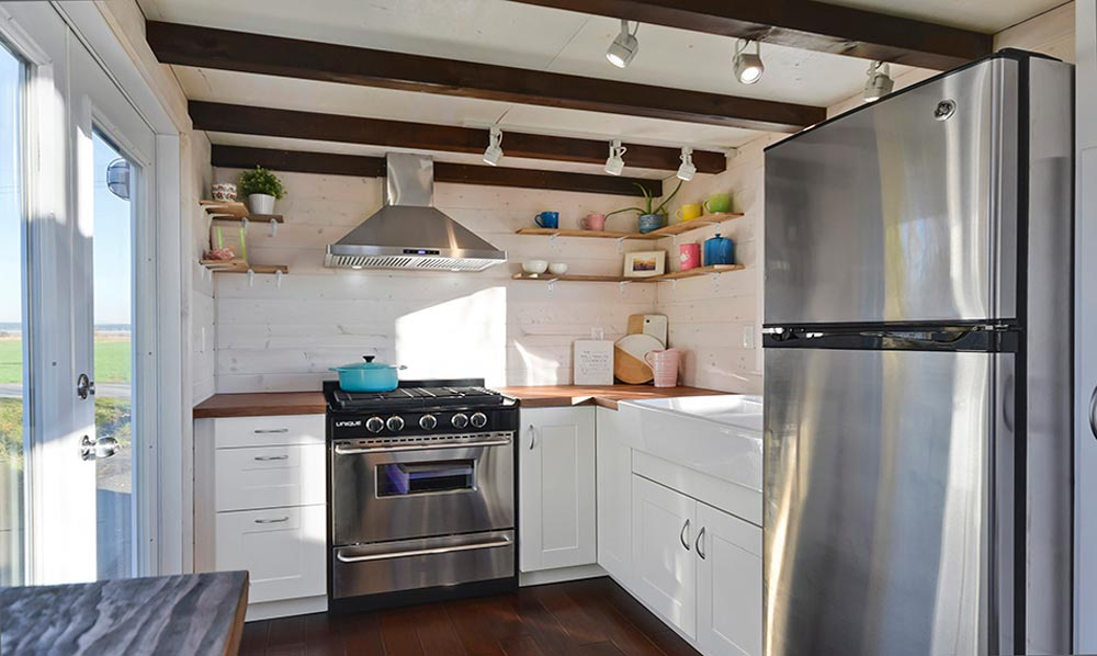 Kitchen - Custom House by Mint Tiny Homes