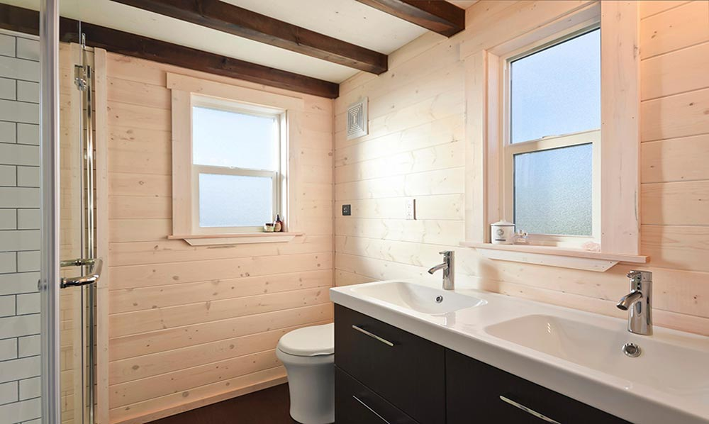 Bathroom - Custom House by Mint Tiny Homes