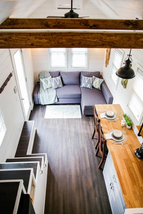 View From Loft - Modern Take Two by Liberation Tiny Homes