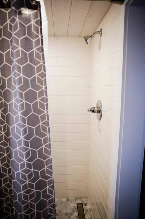 Shower - Modern Take Two by Liberation Tiny Homes