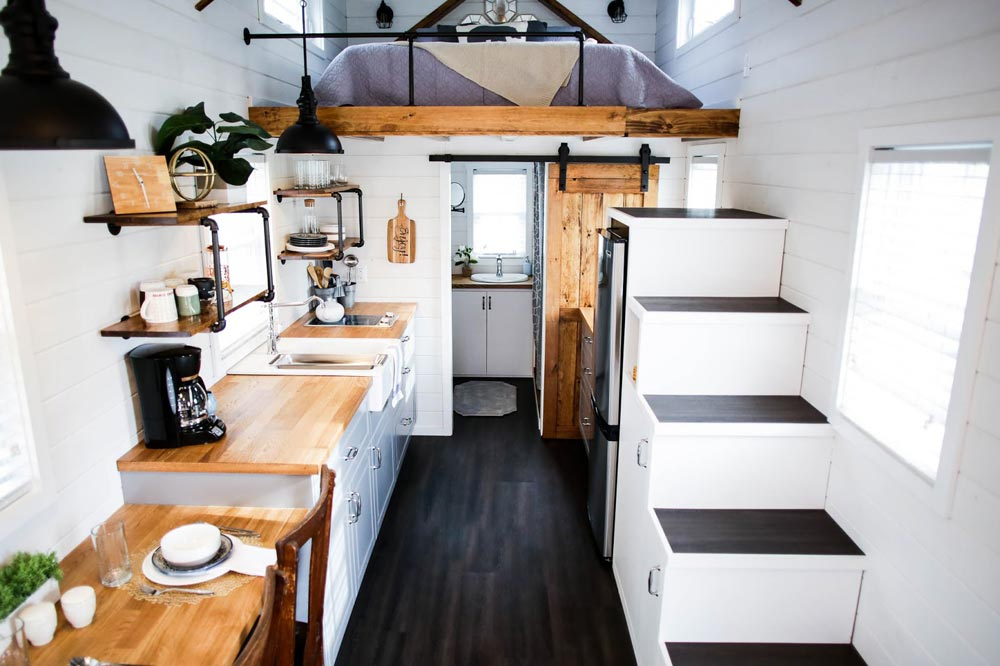 Tiny House Interior   Modern Take Two By Liberation Tiny Homes