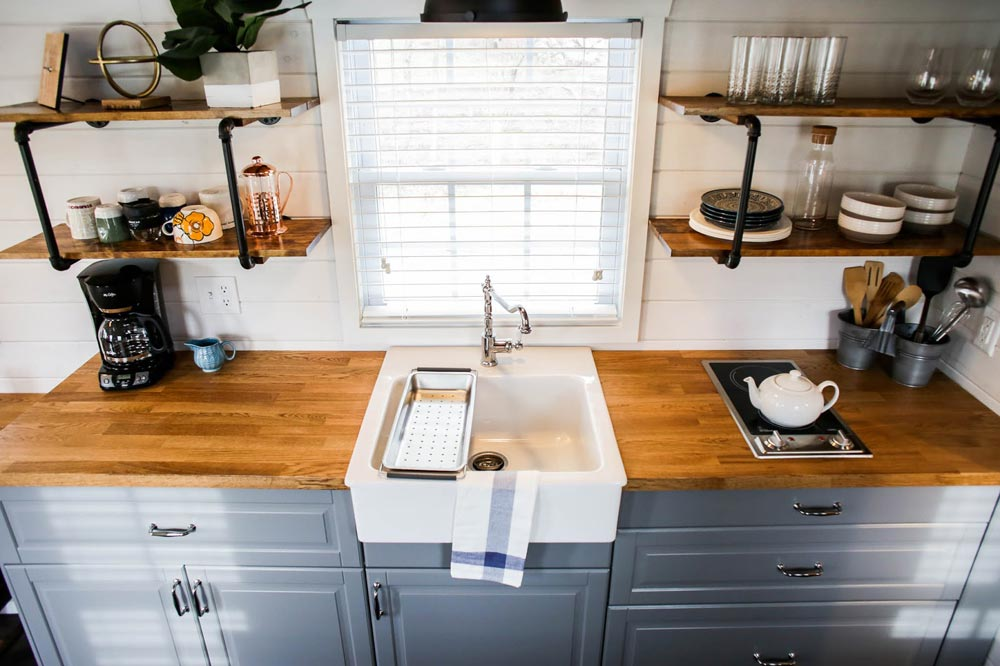Farm Sink - Modern Take Two by Liberation Tiny Homes