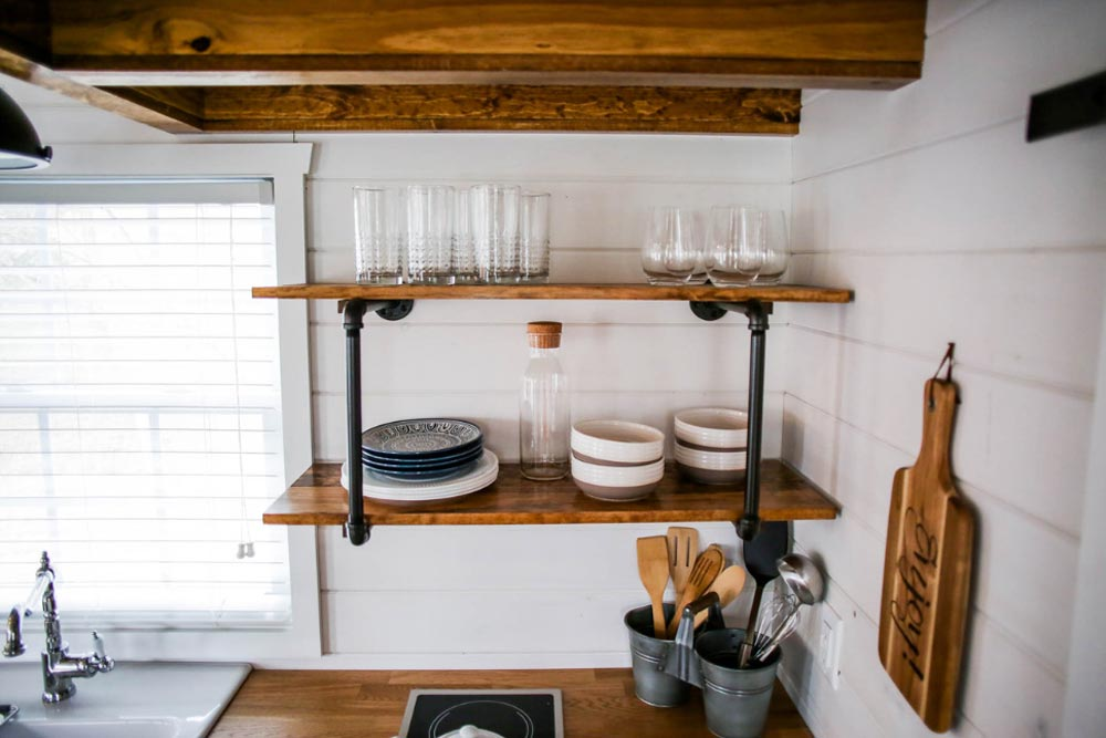 Open Shelving - Modern Take Two by Liberation Tiny Homes