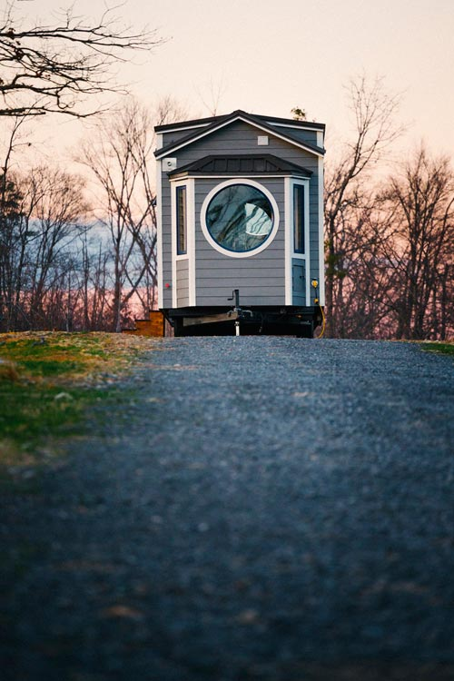 Large Circular Window - Monocle by Wind River Tiny Homes