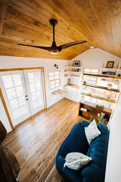 Tiny House Interior - Monocle by Wind River Tiny Homes