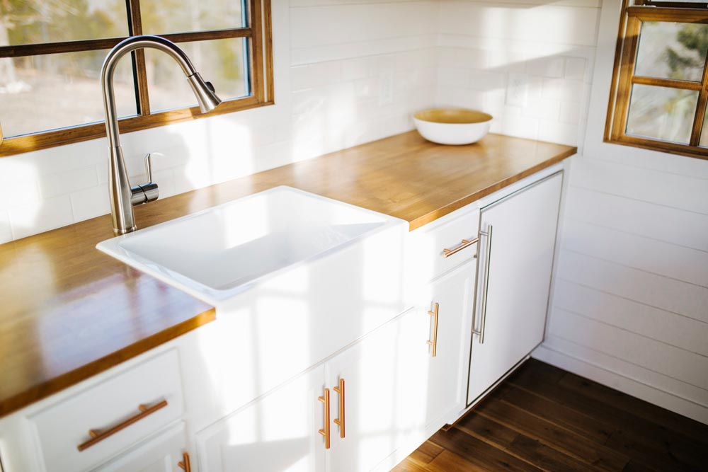 Farm Sink - Monocle by Wind River Tiny Homes