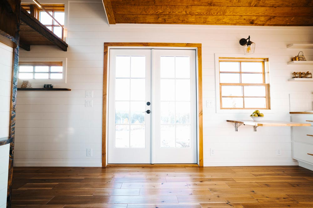 French Doors - Monocle by Wind River Tiny Homes