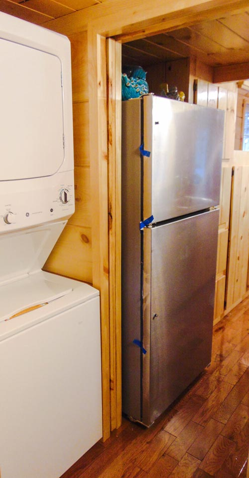 Stackable Washer/Dryer - French Quarter by Incredible Tiny Homes