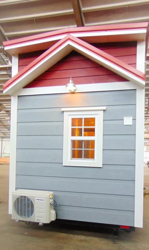 Reverse Gable Roof - French Quarter by Incredible Tiny Homes