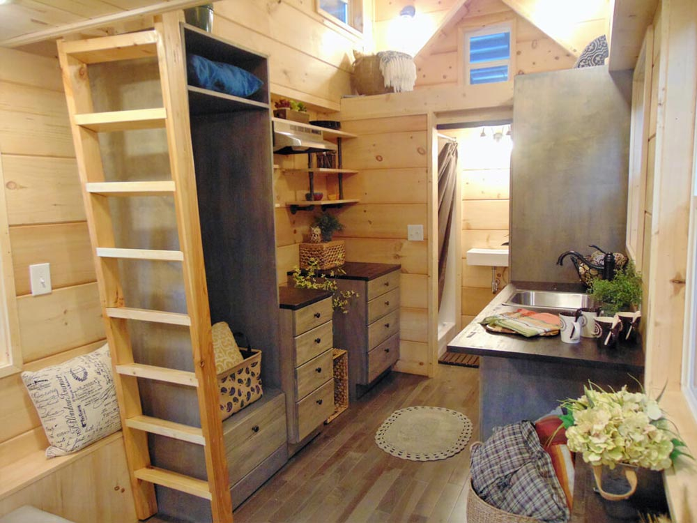 Custom Cabinets - Rookwood Cottage by Incredible Tiny Homes