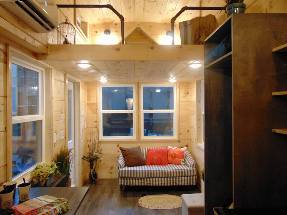 Living Room - Rookwood Cottage by Incredible Tiny Homes