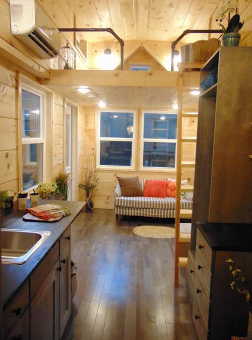Oak Flooring - Rookwood Cottage by Incredible Tiny Homes