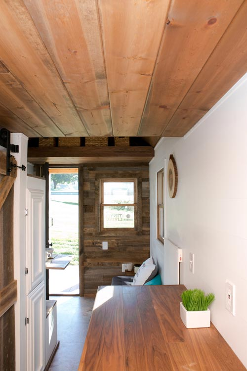 Tiny House Interior - Roving by 84 Lumber