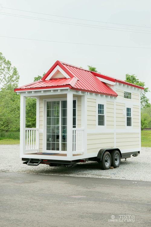 Cottage Style Tiny House - Red Shonsie by 84 Lumber