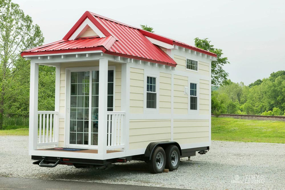 206 sq.ft. Tiny House - Red Shonsie by 84 Lumber