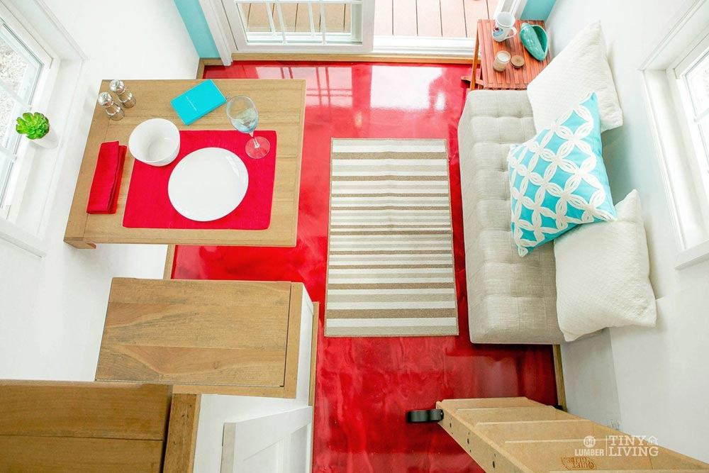 Red Epoxy Floor - Red Shonsie by 84 Lumber