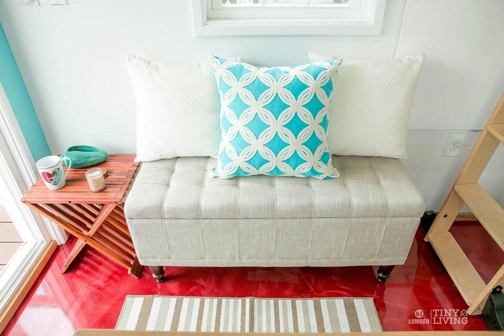 Couch - Red Shonsie by 84 Lumber