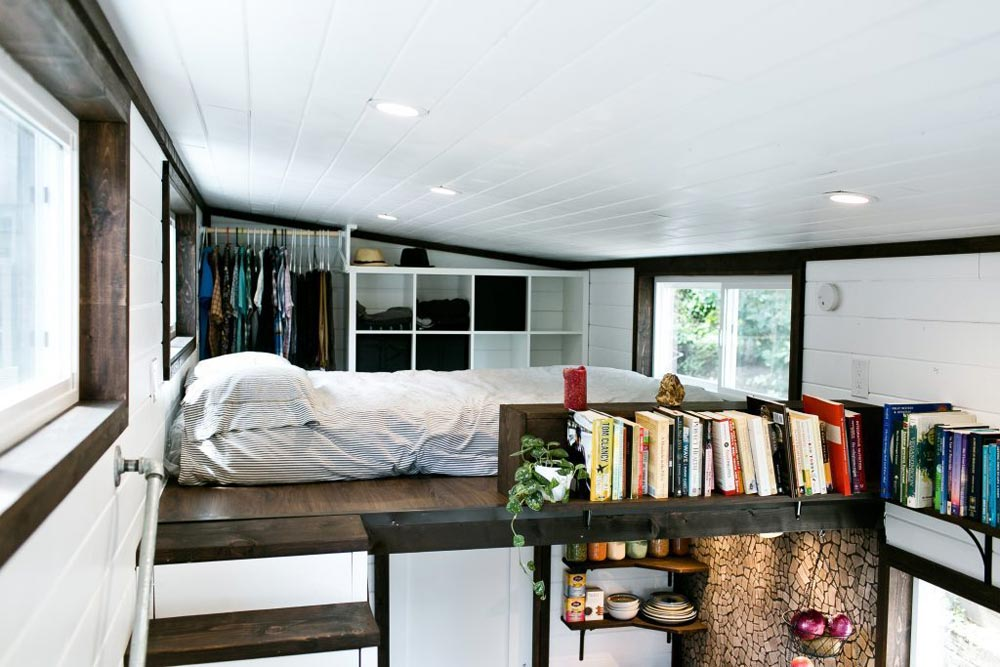 Bedroom Loft - Shannon Black's Tiny House