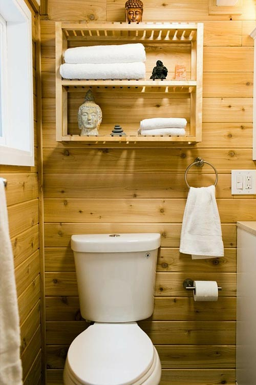 Bathroom - Shannon Black's Tiny House