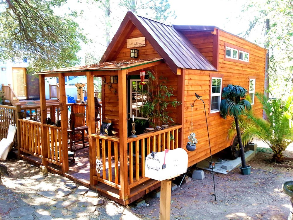 Patio - Sonoma by SunWest Tiny Homes