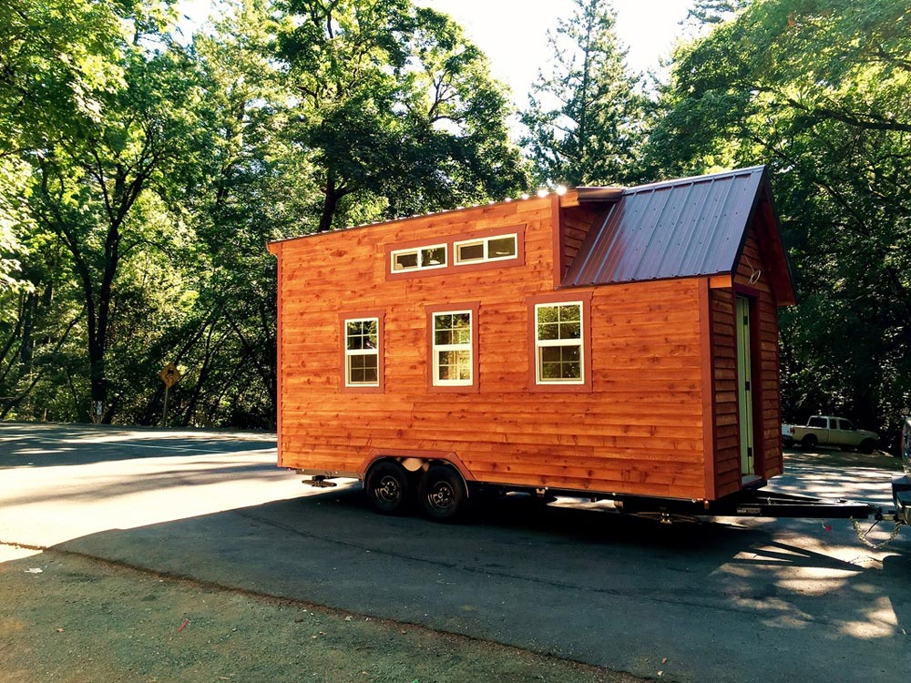 Double Dormers - Sonoma by SunWest Tiny Homes