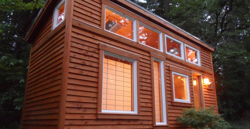 Tiny House Exterior - Tea House by Oregon Cottage Company