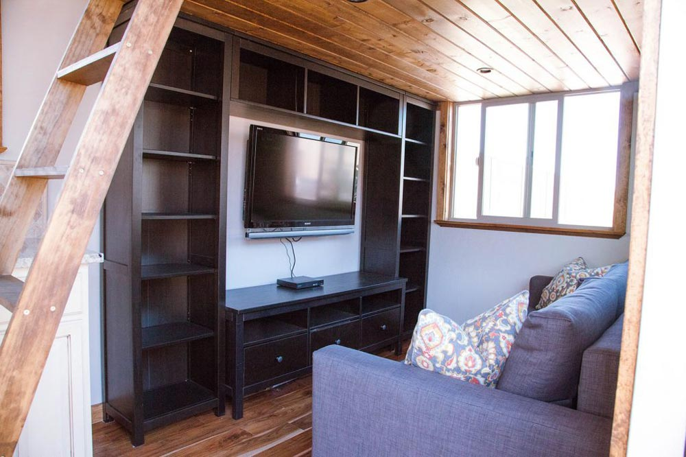 Entertainment Center - Teton by Alpine Tiny Homes
