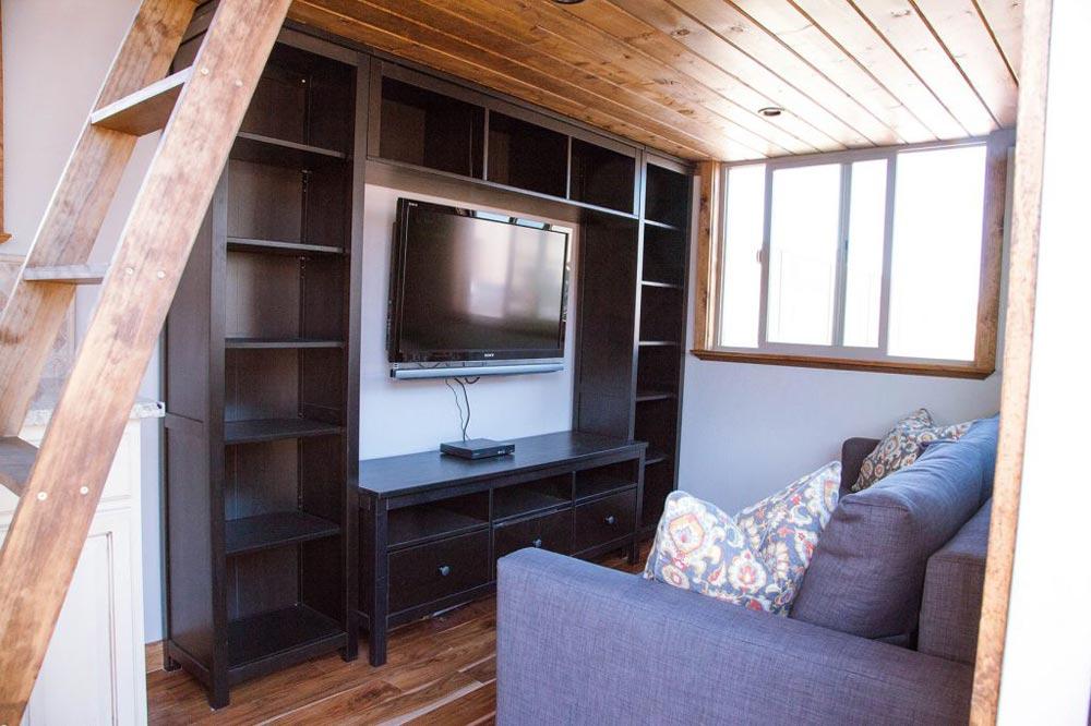 Entertainment Center - Teton by Alpine Tiny Homes