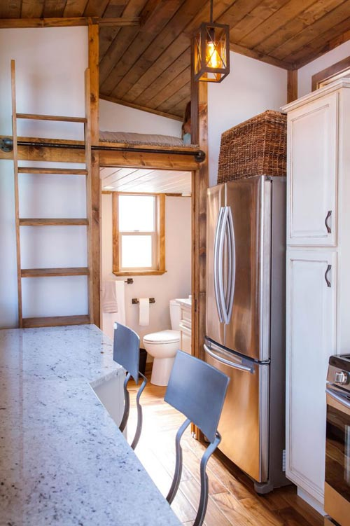 Granite Counter - Teton by Alpine Tiny Homes