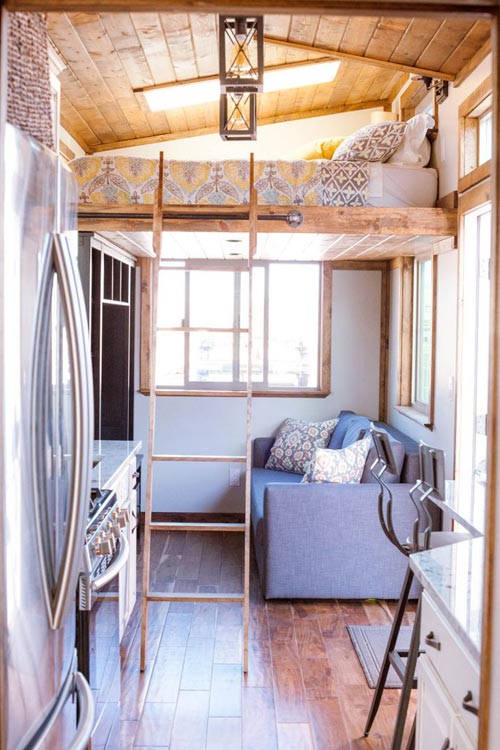 Living Room - Teton by Alpine Tiny Homes