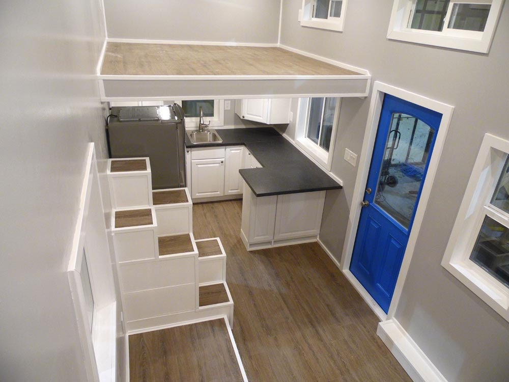Interior View - Two Bedroom by Upper Valley Tiny Homes