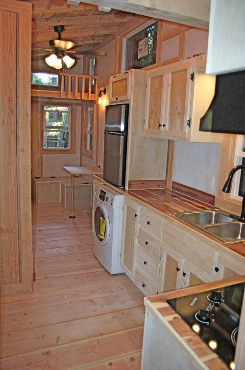 Kitchen with Washer/Dryer Combo - Venture by Molecule Tiny Homes