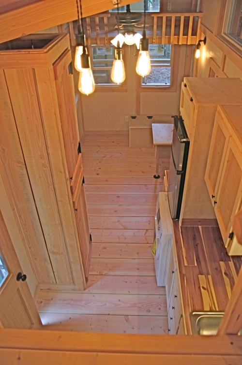 Aerial View - Venture by Molecule Tiny Homes