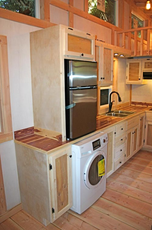 Washer/Dryer and Refrigerator - Venture by Molecule Tiny Homes