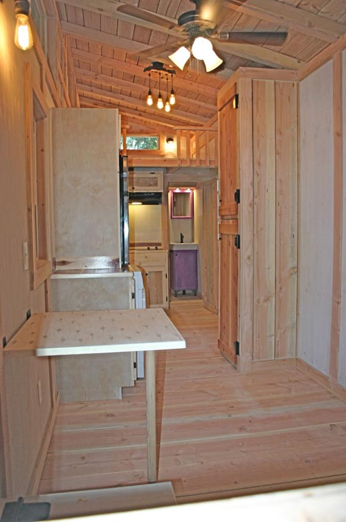 View From Entryway - Venture by Molecule Tiny Homes