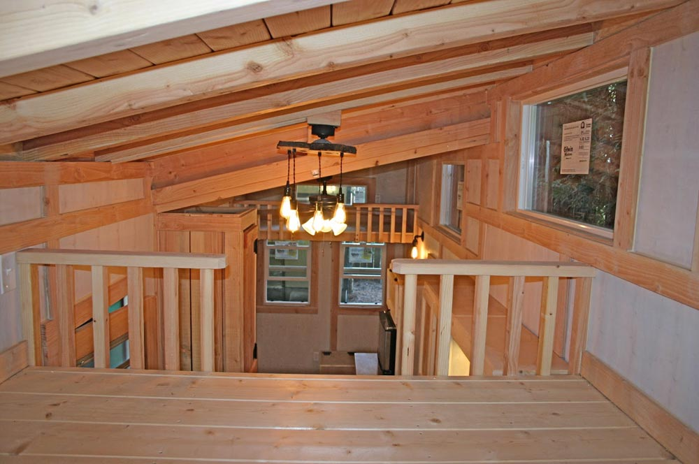 View From Loft - Venture by Molecule Tiny Homes