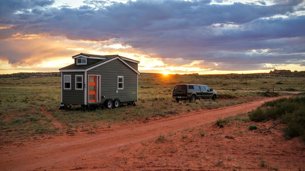 Sunset - Wanderlust Tiny House