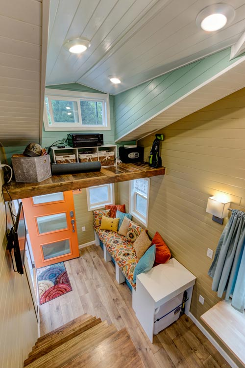 Storage Loft - Wanderlust Tiny House