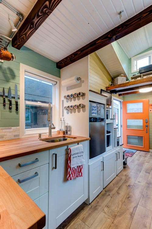 Kitchen - Wanderlust Tiny House