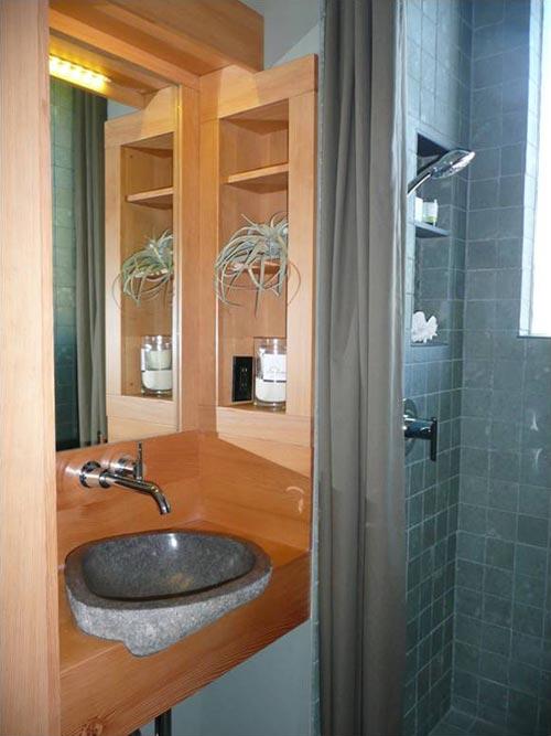 Custom Bathroom Sink - Waterhaus by Greenpod Development