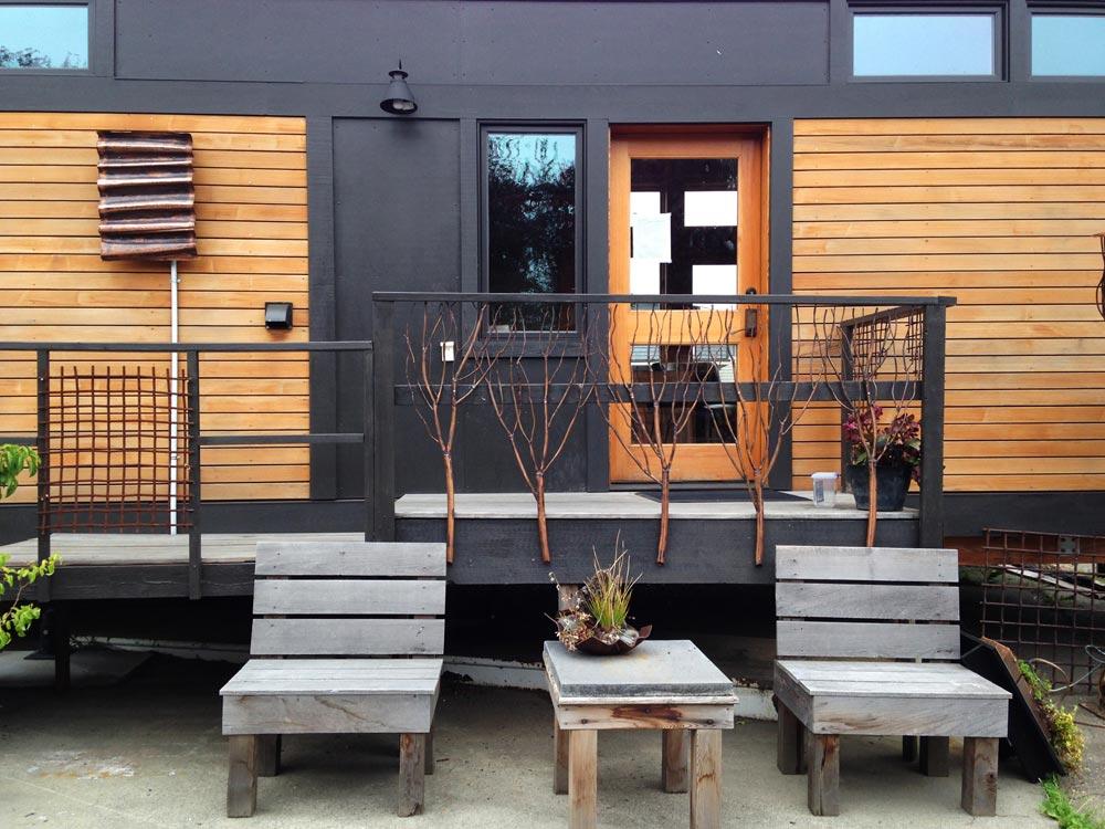 Tiny House Exterior - Waterhaus by Greenpod Development