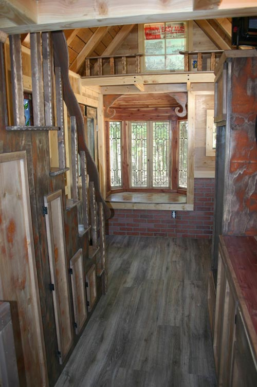Storage Stairs - 1904 by Molecule Tiny Homes