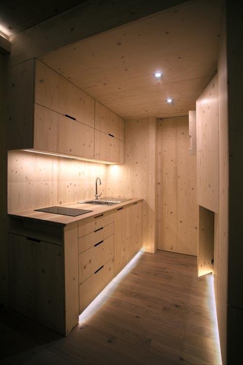 Kitchen Lighting - Ark Shelter Tiny House