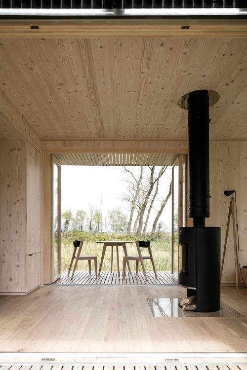 Interior - Ark Shelter Tiny House