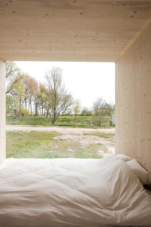 Bed - Ark Shelter Tiny House