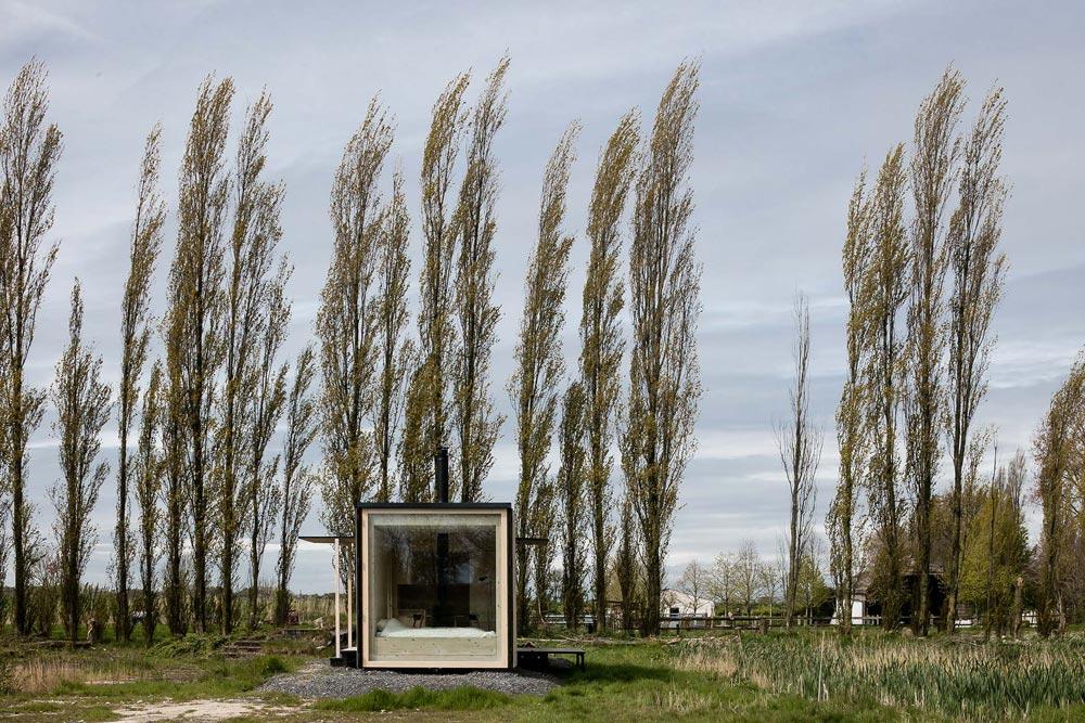 Scenic Setting - Ark Shelter Tiny House