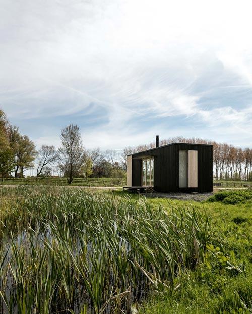 Belgian Tiny House - Ark Shelter Tiny House