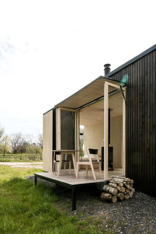 Deck - Ark Shelter Tiny House