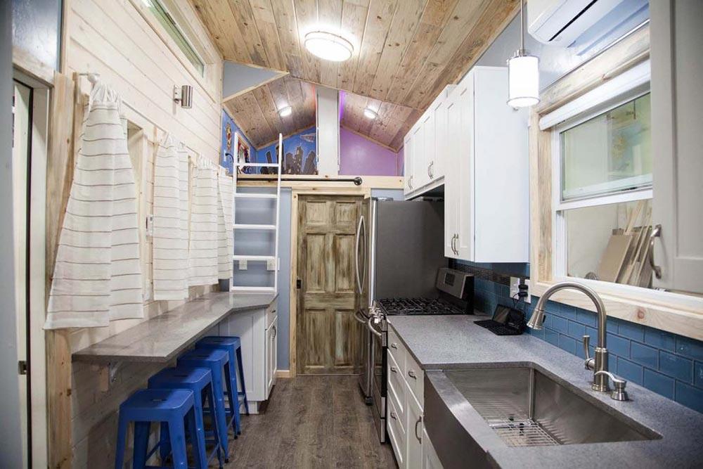 Tiny House Interior - Brown Bear by Alpine Tiny Homes