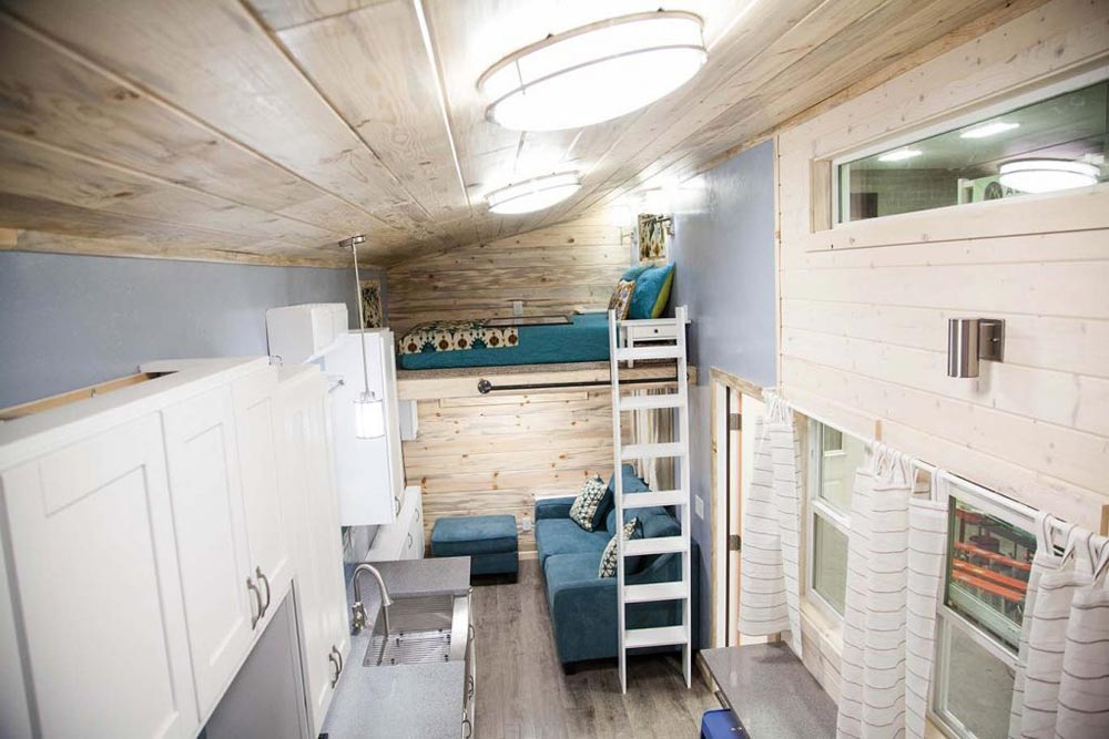 View From Loft - Brown Bear by Alpine Tiny Homes